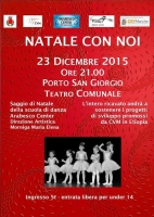 NATALE CON NOI!! Al teatro con Arabesco Center!!