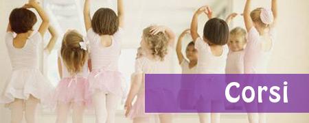 I corsi della scuoladi  danza a Fermo