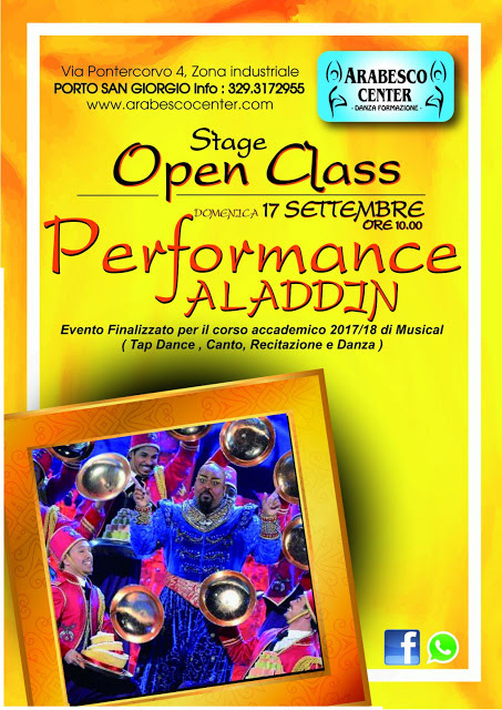 Stage di Open Class Performance ALADDIN
